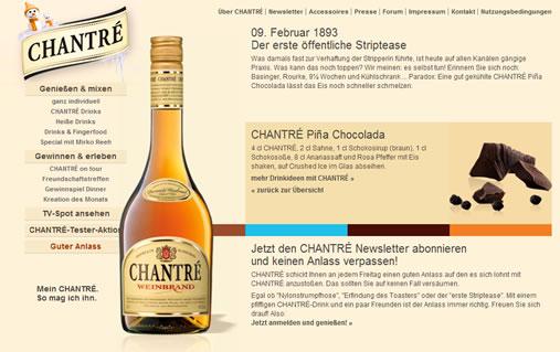 E-Letter für Chantré