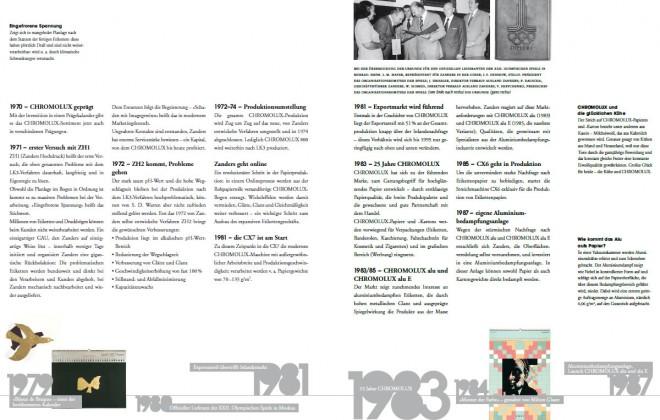 Broschüre 50 Jahre Chromolux